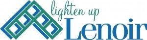 Lighten Up Lenoir Logo