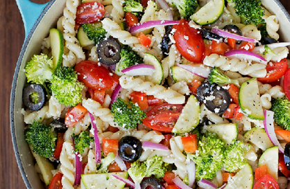 Healthy Recipe | Summer Veggie Pasta Salad